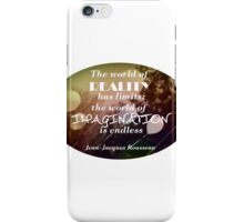 Imagination is the best Policy iPhone Case/Skin