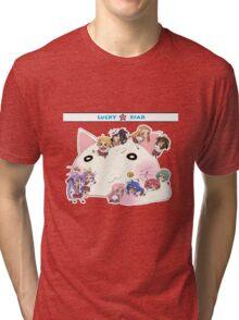 """Lucky Star Chibi """"Chibi Star!"""" Tri-blend T-Shirt"""
