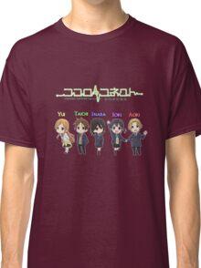 Kokoro Connect Chibi Shirt Classic T-Shirt