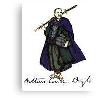 Samurai Doyle Canvas Print