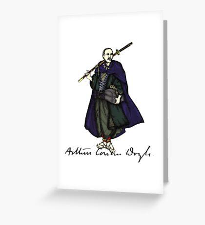 Samurai Doyle Greeting Card