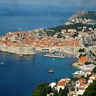 Dubrovnik - Old Port-City of Croatia by Keith Richardson