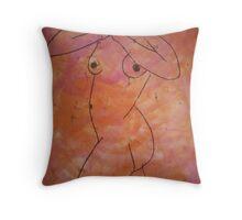 female body  Throw Pillow