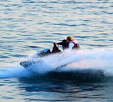 Personal Water Craft - PWC   Shirley, New York  by © Sophie W. Smith