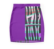 Abstract gifts and decor, modern Mini Skirt