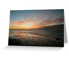Yardie Creek Sunset Greeting Card