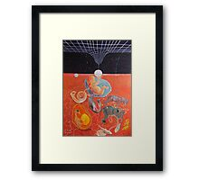 From gestation to the evolution of abstract thinking Framed Print