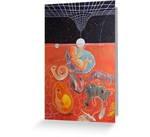 From gestation to the evolution of abstract thinking Greeting Card