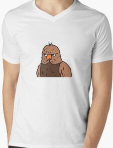 Big Lez Show Owly Mens V-Neck T-Shirt