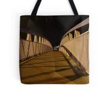 bridge (dusk: receding curves, zigzag shadows) Tote Bag