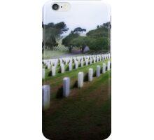 Rosecrans Military Cemetery iPhone Case/Skin