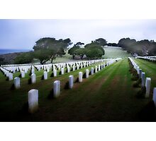 Rosecrans Military Cemetery Photographic Print