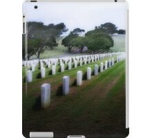 Rosecrans Military Cemetery iPad Case/Skin