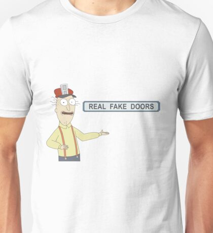 Rick and Morty: Real Fake Doors Unisex T-Shirt