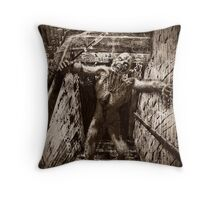The Haunted 4 (The Guardian of the House) Throw Pillow