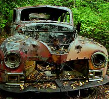 The old Car at Jackfish Ontario by loralea
