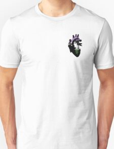 Genderqueer Pride Heart (with Black Detail) T-Shirt