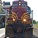 """Boston Maine Diesel Power"" - North Conway Series - © 2009 SEP by Jack McCabe"