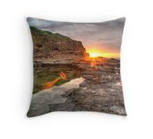 Ship in the Sun Throw Pillow
