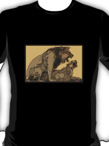 BIG CATS MATING COPULATION T-Shirt