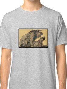 BIG CATS MATING COPULATION Classic T-Shirt