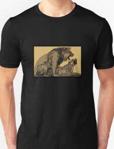 BIG CATS MATING COPULATION Unisex T-Shirt