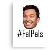 #FalPals Black Canvas Print
