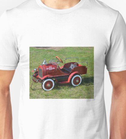 My little red Fire Truck Unisex T-Shirt