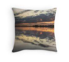 Sunrise over Lake Illawarra Throw Pillow