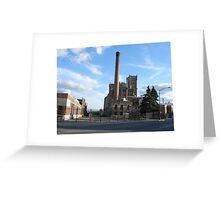Landmark Schmitt Brewery Greeting Card