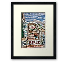 Salvation Truck Framed Print