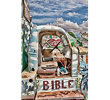 Salvation Truck Photographic Print