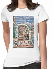Salvation Truck Womens Fitted T-Shirt