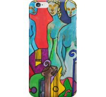 Three Muses iPhone Case/Skin