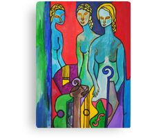 Three Muses Canvas Print