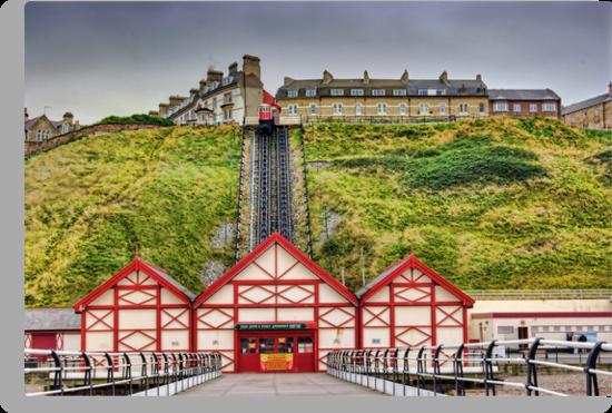 Saltburn Funicular Lift by Trevor Kersley