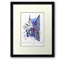 Chatillon-en-Diois, France Framed Print