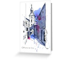 Chatillon-en-Diois, France Greeting Card