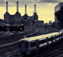 Battersea and Rail by Astrid Authier