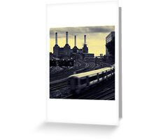 Battersea and Rail Greeting Card