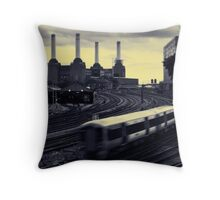 Battersea and Rail Throw Pillow