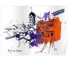 Pont-en-Royans Poster