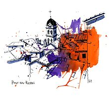 Pont-en-Royans, France Photographic Print