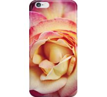 Pink and Yellow Rose iPhone Case/Skin