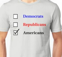 Election Ballot - Americans for Light T's Unisex T-Shirt
