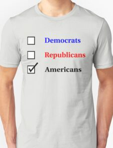 Election Ballot - Americans for Light T's T-Shirt