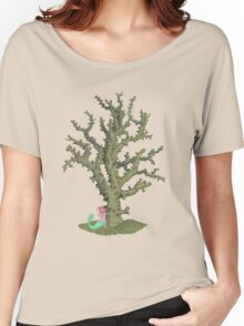 Branched Coral. Women's Relaxed Fit T-Shirt