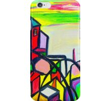 Rainbow Houses iPhone Case/Skin