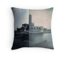 The Pumphouse, Asbury Park, NJ Throw Pillow