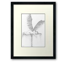 Angel or Demon Framed Print